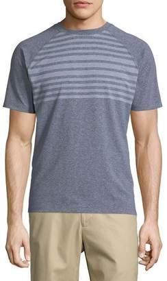 Peter Millar Rio Engineered Stripe Tech T-Shirt