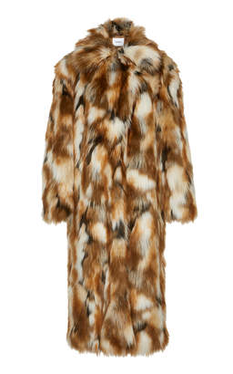 Dondup Long Faux Fur Coat