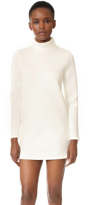 Cynthia Rowley Double Knit Turtleneck Dress $275 thestylecure.com