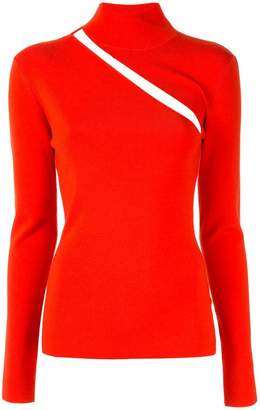 Dion Lee cut out detail knitted top