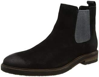 Steve Madden Footwear Men's Teller Low Derby Chelsea Boots, (Black), 42 EU