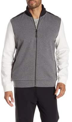 Kenneth Cole New York Long Sleeve Track Jacket