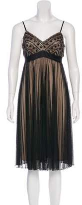 Sue Wong Sequined Midi Dress