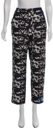 Zero Maria Cornejo Silk Printed Pants