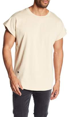 Hip And Bone City Terry Cap Sleeve Tee