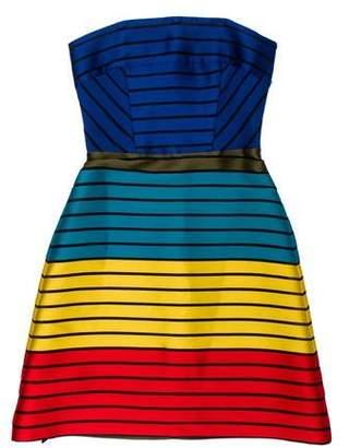 Mary Katrantzou Striped A-Line Dress