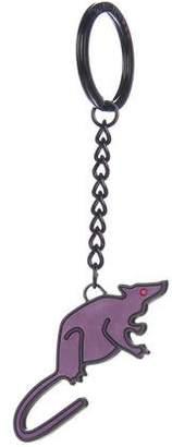 Marc Jacobs Rat Logo Keychain