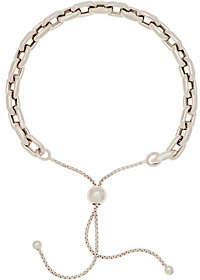 Italian Silver Adjustable Oval Link Bracelet5.3g