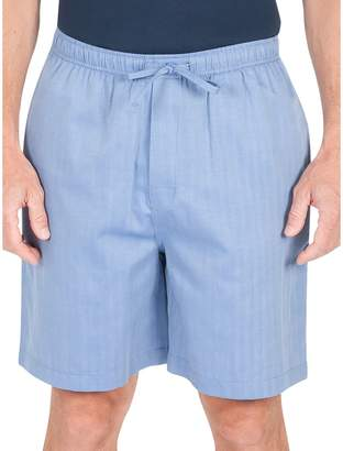 Haggar Drawstring Cotton-Blend Pyjama Shorts