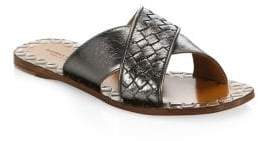 Bottega Veneta Leather Slides