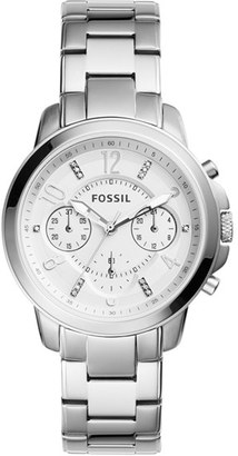 Women's Fossil 'Gwynn' Chronograph Bracelet Watch, 38Mm $145 thestylecure.com