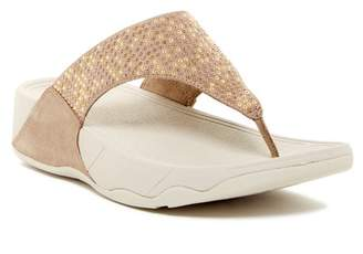 FitFlop Studded Aztec Toe Post Sandal
