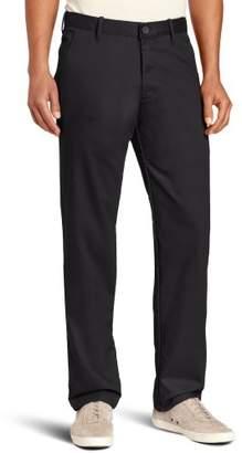 Haggar Men's LK Life Slim Fit Flat Front Chino Casual Pant