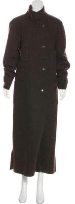 Chanel Long Wool Coat