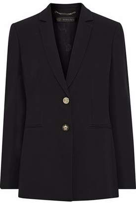 Versace Silk-Crepe Blazer