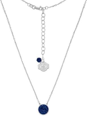Kohl's Penn State Nittany Lions Sterling Silver Crystal Disc Necklace
