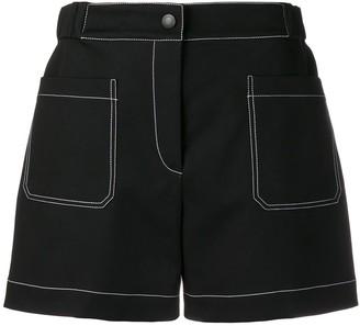 dd8537f5be Black Shorts With Elastic Waist - ShopStyle UK