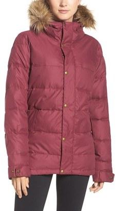 Women's Burton Traverse Waterproof Jacket With Faux Fur Trim $229.95 thestylecure.com