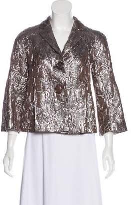 Michael Kors Silk-Blend Blazer
