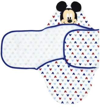 Disney Mickey Mouse Embroidered Hooded Bath Swaddle
