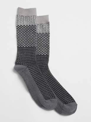 Gap Budding Colorblock Boot Socks