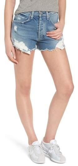 McGuire Georgia May Distressed Denim Shorts