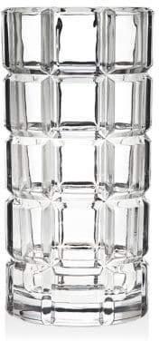 Godinger Radius Square Window Pane Tri Whiskey Decanter Bottle