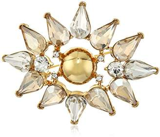 """Trina Turk Sparkle and Shine"""" Cluster Brooch and Pin"""
