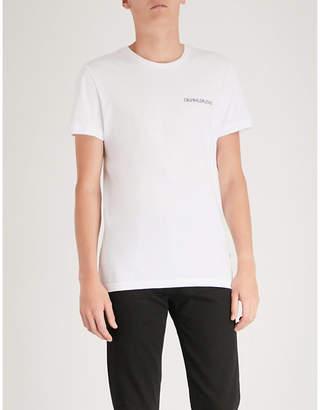 CK Calvin Klein Logo-print cotton-jersey T-shirt