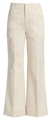 Acne Studios Women's Portia Cotton Trousers
