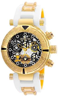 Invicta Women's 'Character Collection' Quartz Stainless Steel and Silicone Casual Watch