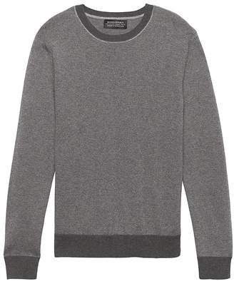 Banana Republic Todd & Duncan Cashmere Stripe Crew-Neck Sweater