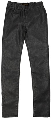 Finger In The Nose Skinny Coated Stretch Denim Pants