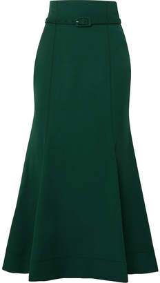 Gabriela Hearst - Severino Wool-blend Midi Skirt - Green