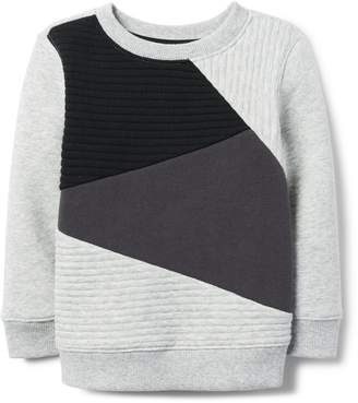 Crazy 8 Crazy8 Toddler Ribbed Colorblock Pullover