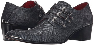Jeffery-West - Triple Buckle Monk Men's Shoes $300 thestylecure.com