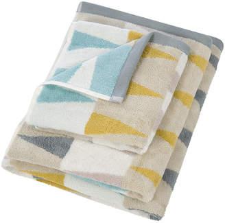 Harlequin Azul Towel - Dove & Linden - Hand Towel