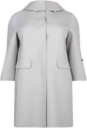 Marina Rinaldi Hooded Coat