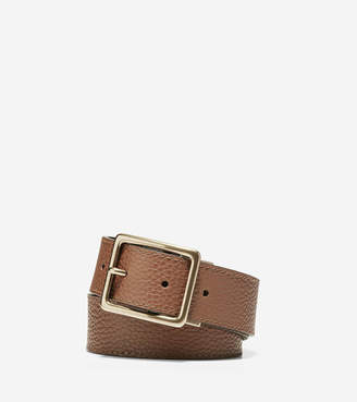 Cole Haan 35mm Reversible Pebble/Smooth Leather Belt