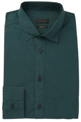 Ermenegildo Zegna Solid Regular Fit Dress Shirt