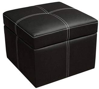 DHP Delaney Small Square Ottoman with Storage