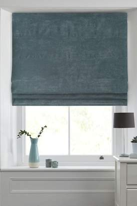 Next Soft Velour Roman Blind