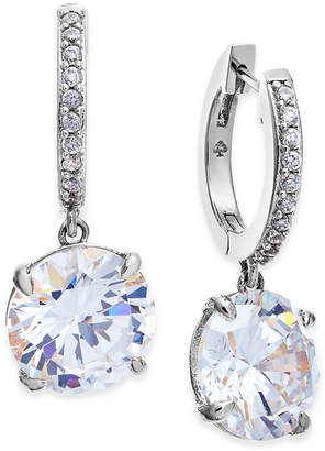 Kate Spade Crystal and Pave Drop Earrings