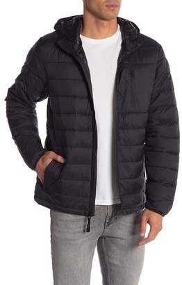 Joe Fresh Hooded Quilted Puffer Jacket