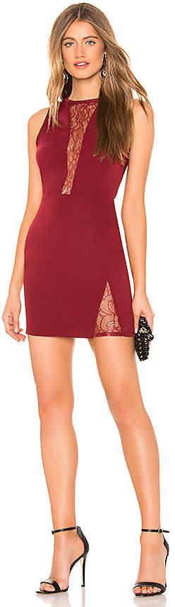 About Us Nancy Lace Mini Dress