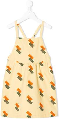 Tiny Cottons English Domino braces dress