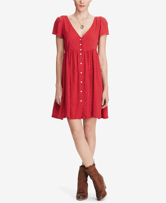 Denim & Supply Ralph Lauren Button-Front Dress $98 thestylecure.com