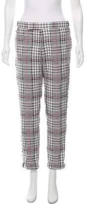 Thom Browne Mid-Rise Straight-Leg Pants