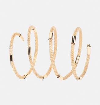 Avenue Mesh Coil Bracelet
