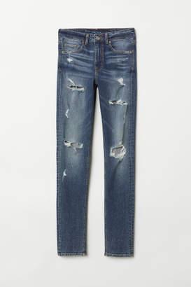 H&M Skinny High Jeans - Blue